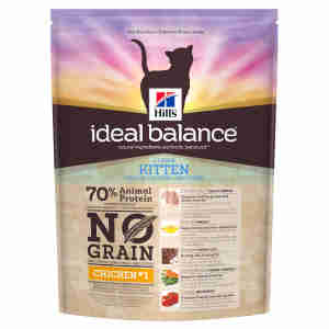 Hill's Ideal Balance Kitten No Grain Cat Food