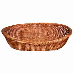 Trixie Wicker Basket Dog Bed