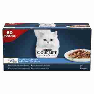 Gourmet Perle Adult Mini Fillets Cat Pouches