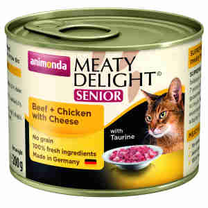 Animonda Meaty Delight Senior Cat Food
