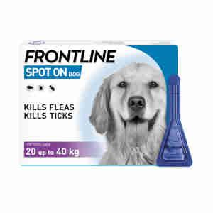 Frontline Spot On for Large Dogs (20-40kg)