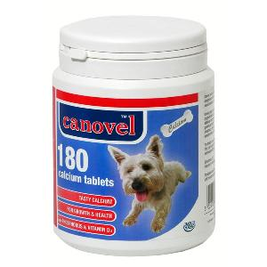 Canovel Calcium Tablets for Dog & Cat