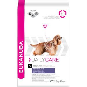Eukanuba Daily Care Sensitive Skin Adult +1 Dry Dog Food