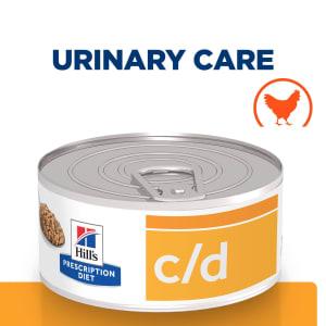 Hill's Prescription Diet Urinary Care c/d Multicare Wet Cat Food - Chicken