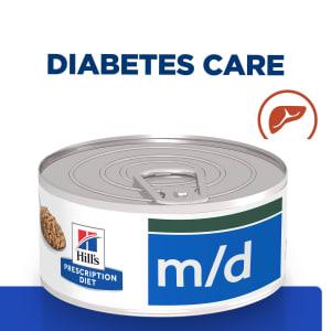 Hill's Prescription Diet Diabetes/Weight Management m/d Adult Wet Cat Food - Minced Liver