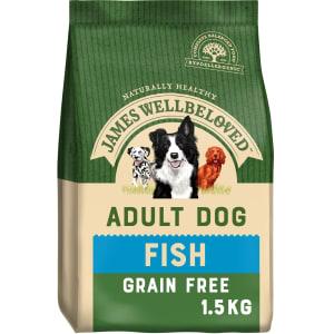 James Wellbeloved Grain Free Adult Dry Dog Food - Fish & Vegetable