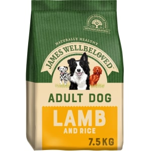 James Wellbeloved Adult Dry Dog Food - Lamb & Rice