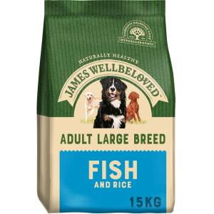 James Wellbeloved Large Adult Dry Dog Food - Fish & Rice