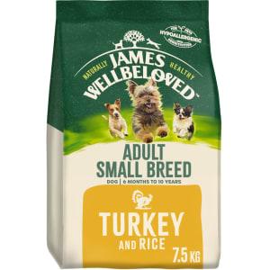 James Wellbeloved Small Breed Adult Dry Dog Food - Turkey & Rice