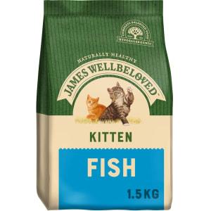 James Wellbeloved Kitten Dry Cat Food - Fish