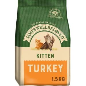 James Wellbeloved Complete Kitten Dry Cat Food - Turkey