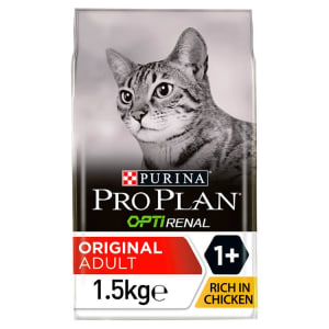 Purina Pro Plan Optirenal Original Adult Dry Cat Food - Chicken