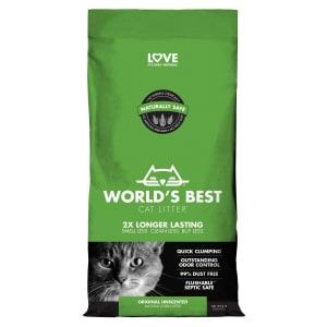Worlds Best Quick Clumping Cat Litter