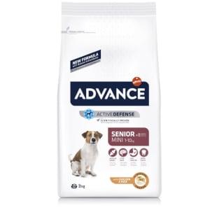 Advance Mini Senior +8 Dry Dog Food - Chicken & Rice