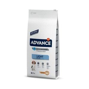 Advance Medium Light Dry Dog Food - Chicken & Rice