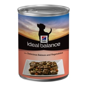 Hill's Ideal Balance Adult Wet Dog Food - Salmon & Vegetables