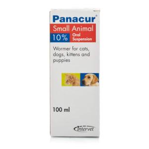 Panacur 10% Oral Suspension Liquid for Small Cat & Dogs