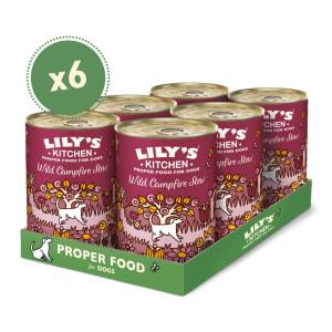 Lily's Kitchen Adult Wet Dog Food - Wild Campfire Stew