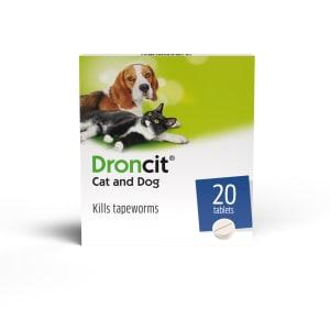 Droncit Tapeworms Cat & Dog Tablets