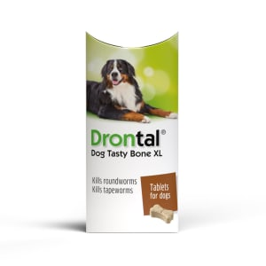 Drontal Tasty Bone Worming Tablets for Extra Large Dogs