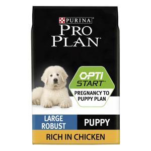 Purina Pro Plan Opti Start Large Robust Puppy Dry Dog Food - Chicken
