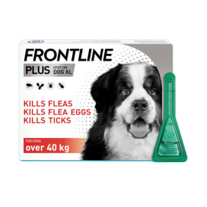 Frontline Plus Giant Dog (40-60kg) Pipettes
