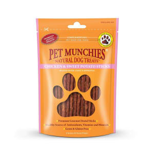 Pet Munchies Dog Treats - Chicken & Sweet Potato