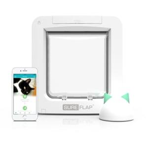 SureFlap Microchip Cat Pet Door Connect with Wireless Hub