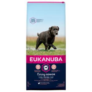 Eukanuba Caring Senior Large Breed Dry Dog Food - Chicken