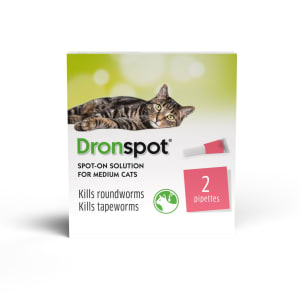 Dronspot Spot On Worming Solution for Medium Cats (2.5-5kg)