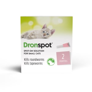 Dronspot Spot On Worming Solution for Small Cats (0.5-2.5kg)