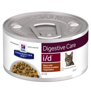 Hill's Prescription Diet Digestive Care i/d Adult Wet Cat Food - Stew with Chicken & Vegetables