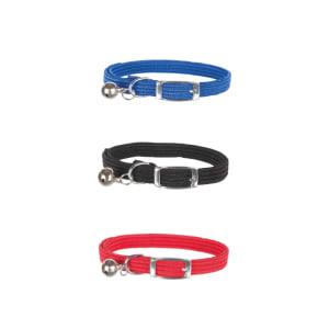 Trixie Nylon Reflective Adjustable Cat Collar in Multi Colour