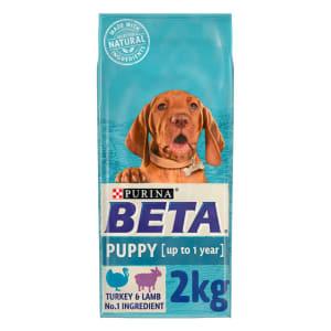 BETA Puppy Dry Dog Food - Turkey & Lamb