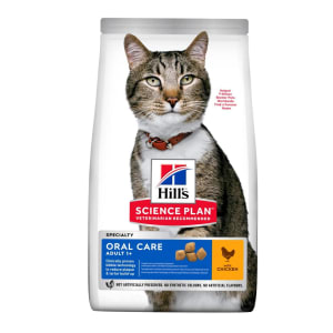 Hill's Science Plan Oral Care Adult 1+ Dry Cat Food - Chicken