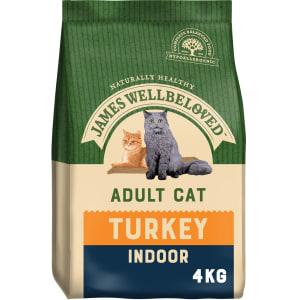 James Wellbeloved Indoor Adult Dry Cat Food - Turkey