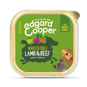 Edgard & Cooper Irresistible Grain Free Adult Wet Dog Food Cup - Lamb & Beef