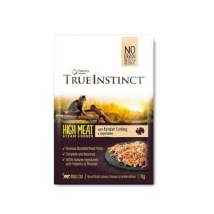 True Instinct Pouch High Meat Fillet Adult Wet Cat Food - Turkey
