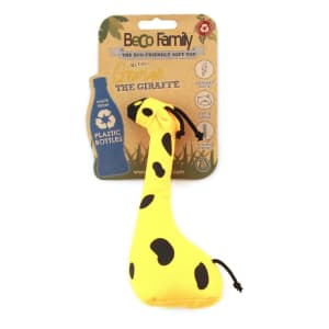 Beco Pets Large Plush Dog Toys in Yellow