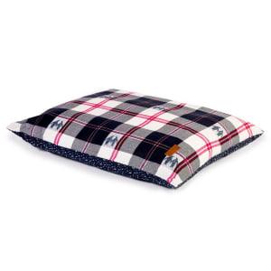 FatFace Penguin Check Deep Duvet Dog Bed