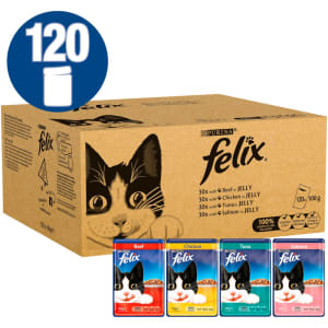 Felix Mixed Selection in Jelly Cat Food