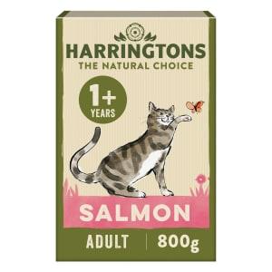 Harringtons Complete Adult/Kitten Dry Cat Food - Salmon