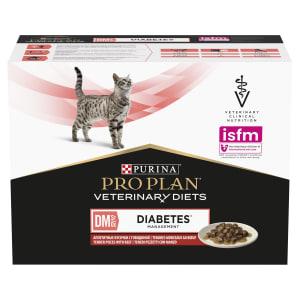 Purina Pro Plan Veterinary Diets Diabetes Management Adult Wet Cat Food - Beef