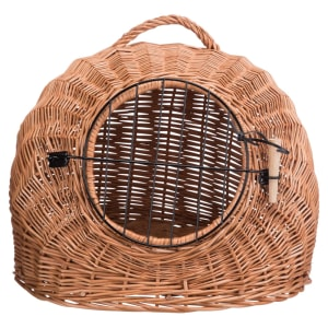 Trixie Wicker Cave with Bars for Cat
