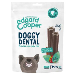 Edgard & Cooper Strawberry & Mint Small Doggy Dental Treat