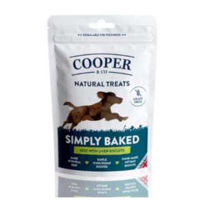 Cooper & Co Grain Free Beef w/ Liver Biscuits