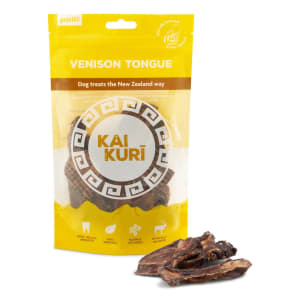 Kai Kuri Air-Dried Venison Dog Treats - Tongue