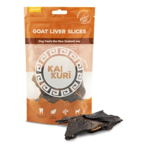 Kai Kuri Air-Dried Slice Dog Treats - Goat Liver