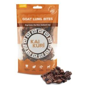 Kai Kuri Air-Dried Dog Treats - Goat Lung Bites