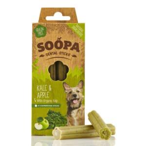 Soopa Organic Kelp Dental Sticks Dog Treats